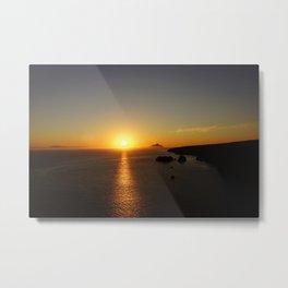 Anacapa at Sunrise Metal Print