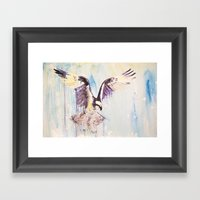 Osprey Framed Art Print
