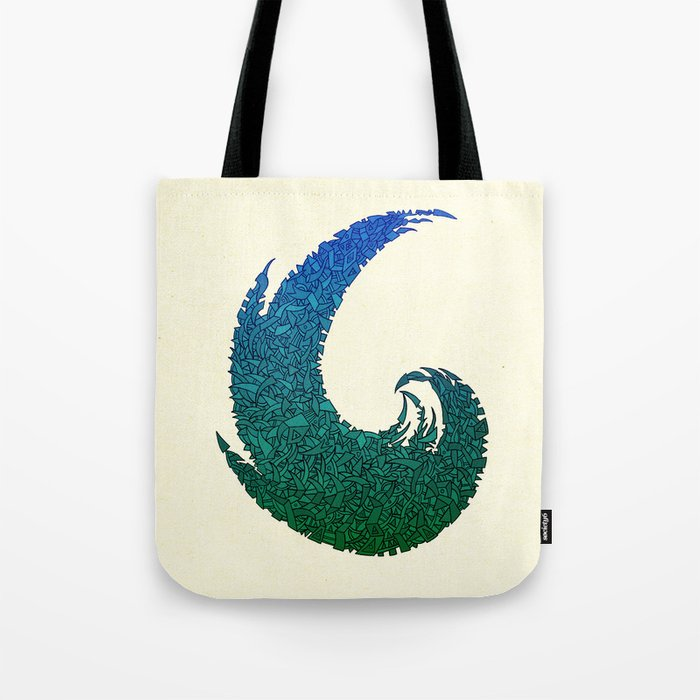 - summer wave - Tote Bag