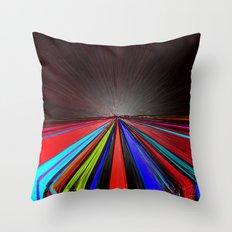 Plastic Revolution Throw Pillow