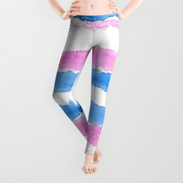 Trans Colors - Love Is Love Leggings