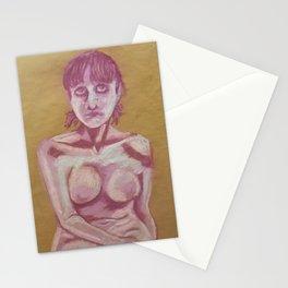 Purple Portrait Stationery Cards