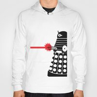 mad men Hoodies featuring Dalek, Mad Men Style by Mosobot64