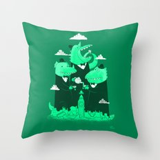 It's Five O-Clock Throw Pillow