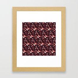 Mauvey Framed Art Print