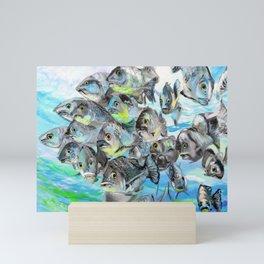 Deep seafish Mini Art Print