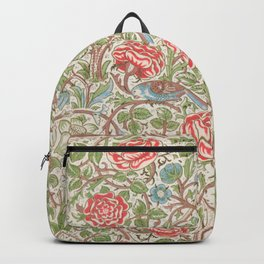 William Morris - Roses - Digital Remastered Edition Backpack