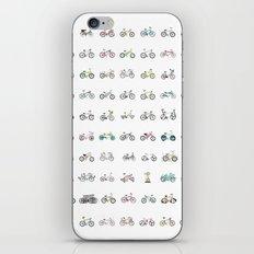 100 bikes iPhone & iPod Skin