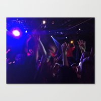 rave Canvas Prints featuring rave by rachelbrandes