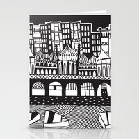 england Stationery Cards featuring Brighton, England by Caroline Rees