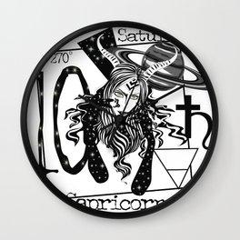 Capricorn - Zodiac Sign Wall Clock