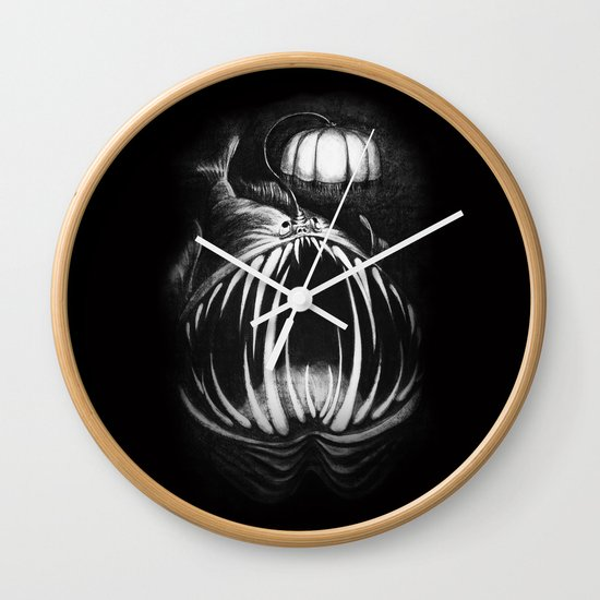 Under The Lampshade Wall Clock