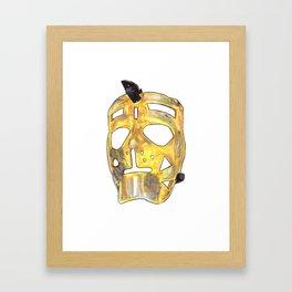 Sawchuk - Mask Framed Art Print