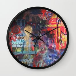 Girl's Night Out Wall Clock
