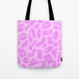 Shapes 1994 drawing Tote Bag