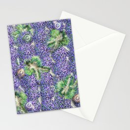 Lavender Angels Stationery Cards