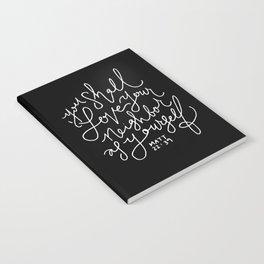 Matthew 22:39 Notebook