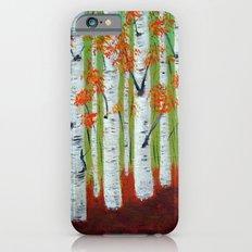 Atumn Birch trees - 5 Slim Case iPhone 6s