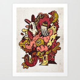 Mael Art Print