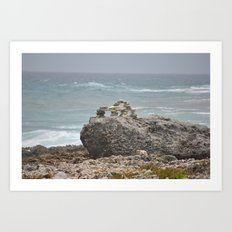 Rocks-Sea Art Print