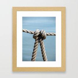 Knot Framed Art Print
