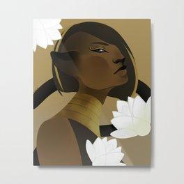 Goddess Bast  Metal Print