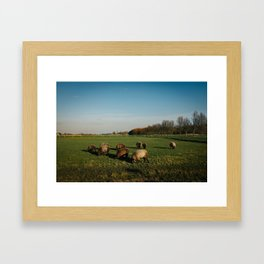 Groningen, The Netherlands Framed Art Print