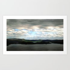 lake sweden. Art Print