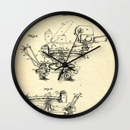 CAMERA BLUEPRINT Wall Clock