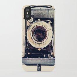 Vintage Kodak Monitor Six-20 Film Camera 1948-1951 iPhone Case