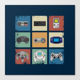 Gaming Generations Canvas Print