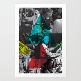 Alumni Club Art Print