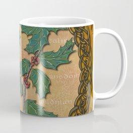 Celtic Holly Coffee Mug