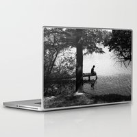 alone Laptop & iPad Skins featuring Alone by Kerri Swayze