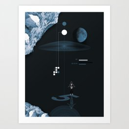 The Night Landing Art Print