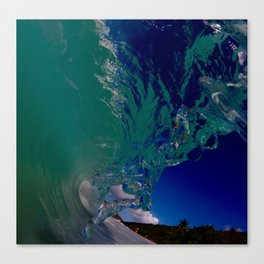 Watery Wave Canvas Print