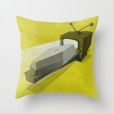 What's on TV? / II Throw Pillow
