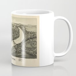 Aerial View of West Newton, Pennsylvania (1900) Coffee Mug