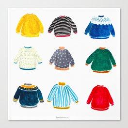 It's sweater season! Canvas Print