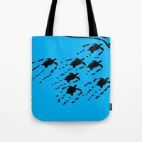 turtles Tote Bags featuring Turtles!!! by designx79