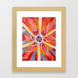 Spring Rays Framed Art Print