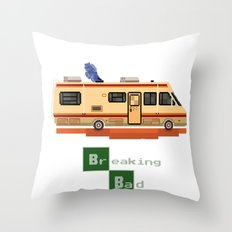 Breaking Bad 8 bits Throw Pillow