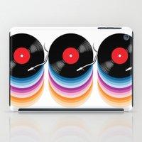 vinyl iPad Cases featuring Vinyl by jun salazar