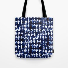 Parallel Indigo Tote Bag