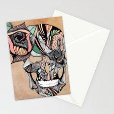 Flower Skull Stationery Cards