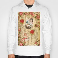 shabby chic Hoodies featuring Shabby Chic by Diego Tirigall