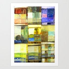 tile of non-inhibition Art Print