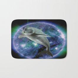 Space dolphin Bath Mat