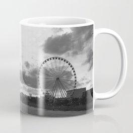 South Carolina Coastline - Myrtle Beach BW Coffee Mug