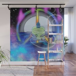 Wondrous & Whimzical Places: Jolt Finds Peace Wall Mural